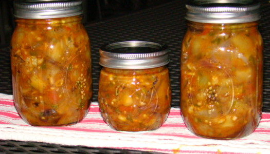 Eggplant Tomato Relish