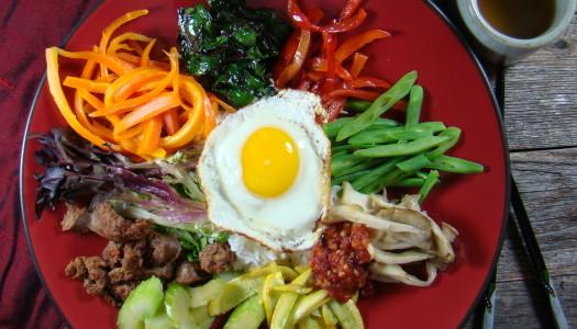 Bibimbap – a colorful Korean feast!