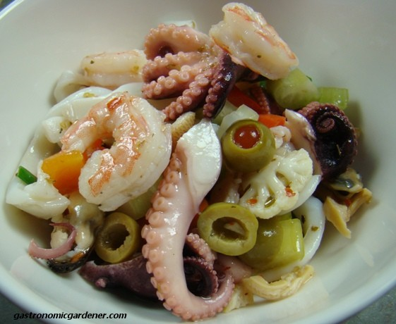 Insalata di Frutti di Mare for the New Year