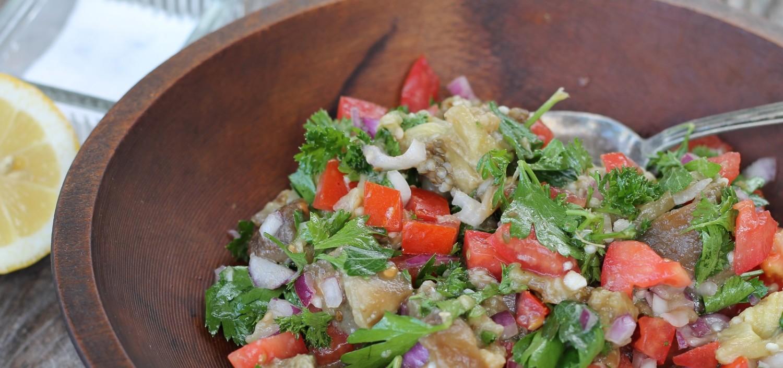 Eggplant salad Par