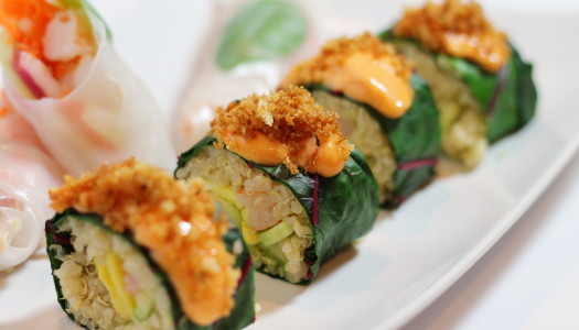 Mocki-Roll with Chard and Quinoa
