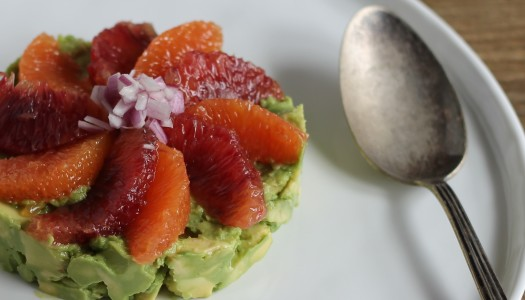 Avocado tartar with Citrus Supremes