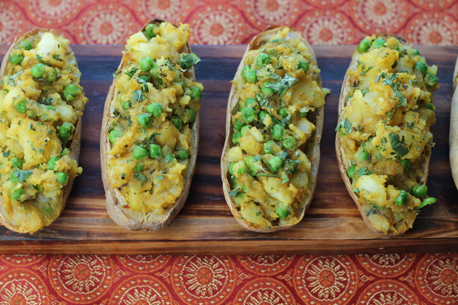 Samosa Potato Skins