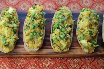 Samosa Potato Skins