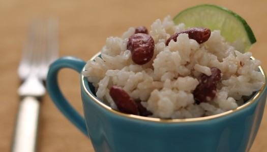 Easy Jamaican Peas and Rice