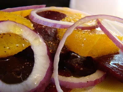 The Beet goes on – Beet, Orange, and Red Onion Salad